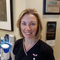 Dental hygienist Nancy